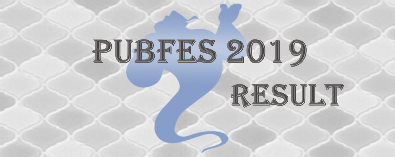 Pubfes 2019 Result